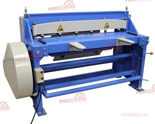 Электромеханическая гильотина q11 3x1300