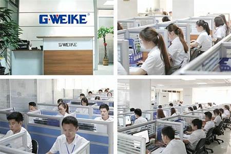 Высококвалифицированный персонал, работающий в компании Gweike